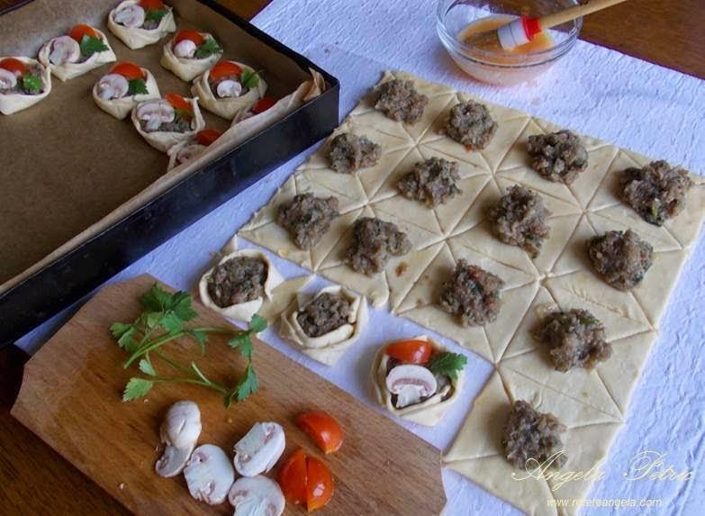Preparare cusulete cu ciuperci-etapa 8