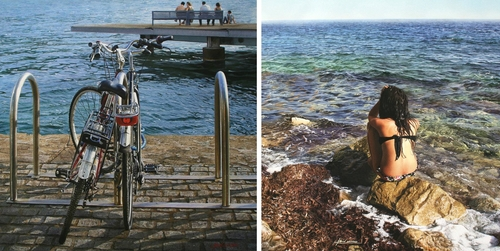 00-Iban-Navarro-Watercolour-Paintings-of-the-Seaside-that-look-like-Photographs-www-designstack-co