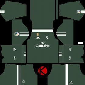 Real Madrid Kits 2017/2018 - Dream League Soccer