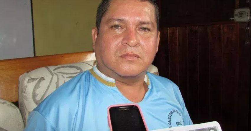 Huelga indefinida de maestros es un fracaso, sostiene Alfredo Velásquez del SUTEP Maynas
