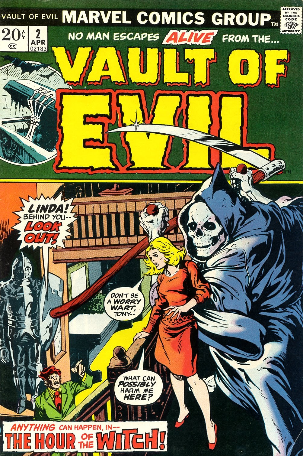 Vault of Evil issue 2 - Page 1
