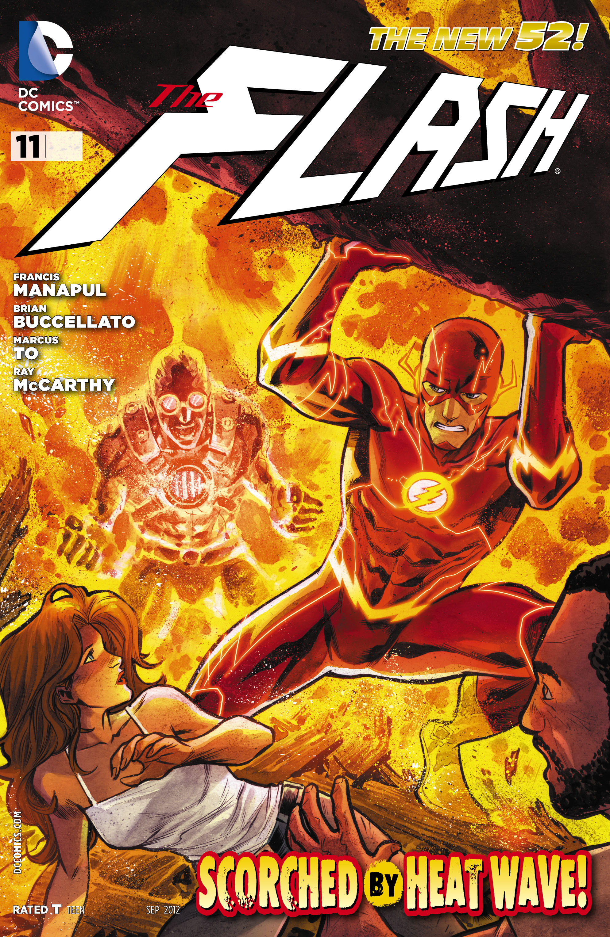 The Flash (2011) issue 11 - Page 1