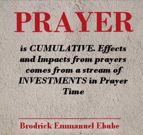Why Your Prayers Seem Not To Be Yielding Results