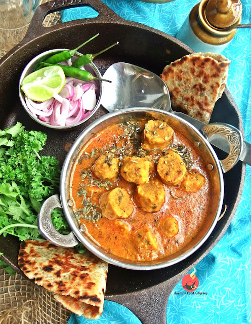 how to cook rajasthani gatta curry