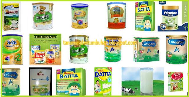 Merk dan Harga Susu Formula Terbaru berbagai Merk dan Usia