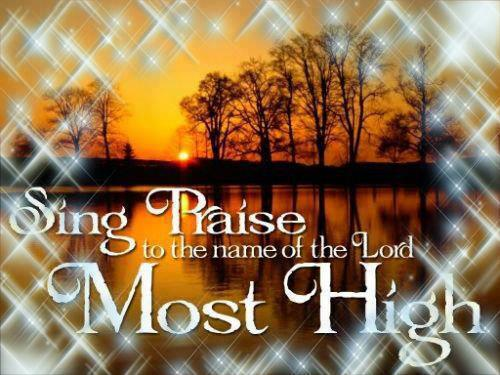 Sing Praise the Name of Lord