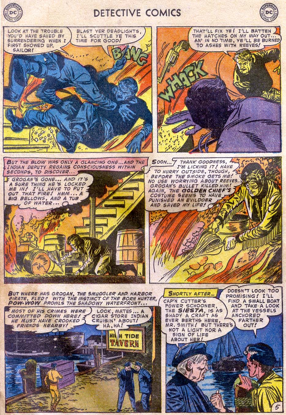 Read online Detective Comics (1937) comic -  Issue #196 - 38