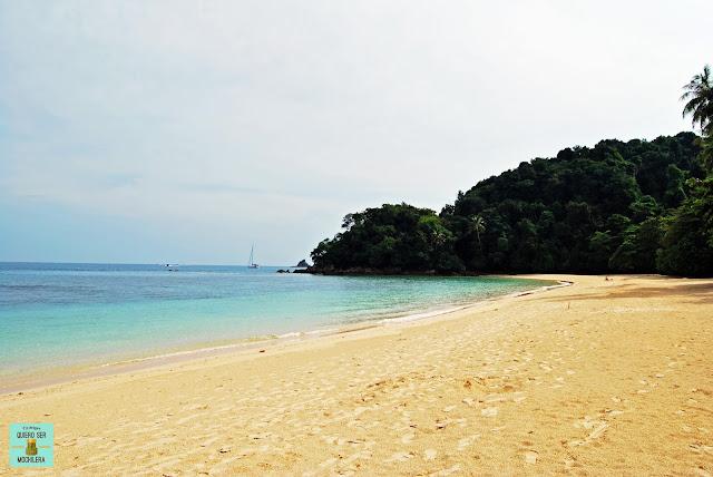 Playas en la península de Malaysia