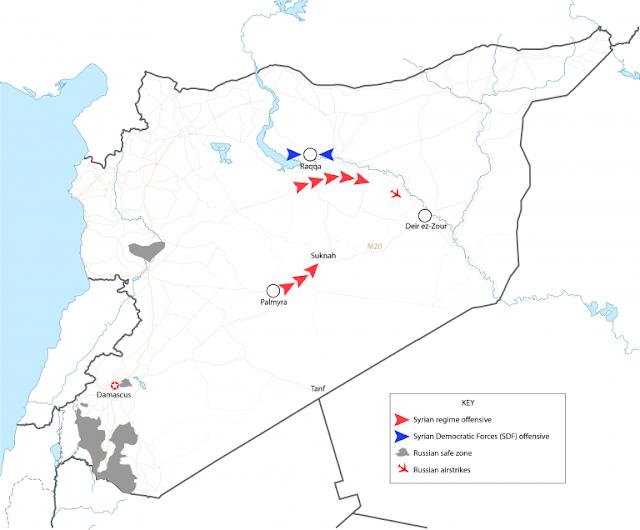 Η Επίθεση του Συριακού Καθεστώτος στην Deir Ezzor