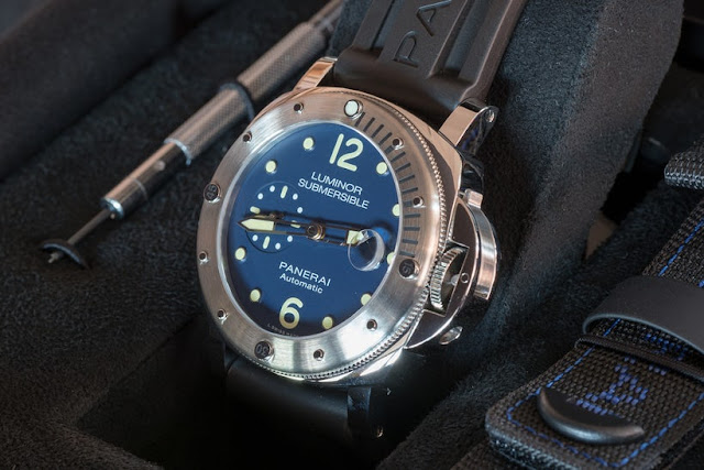 Revue Top Réplique Montre Panerai Luminor Automatique Submersible Acciaio