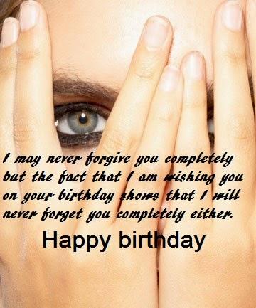 Ex boyfriend happy birthday quotes images, my ex called me ...