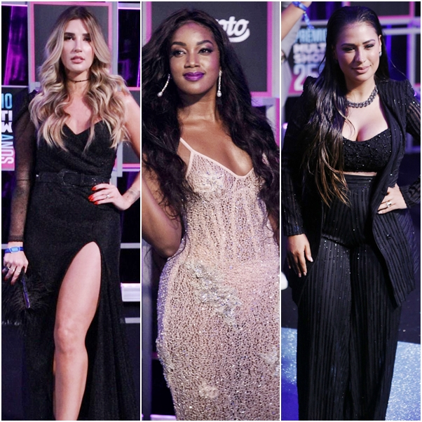 Looks do Prêmio Multishow 2018