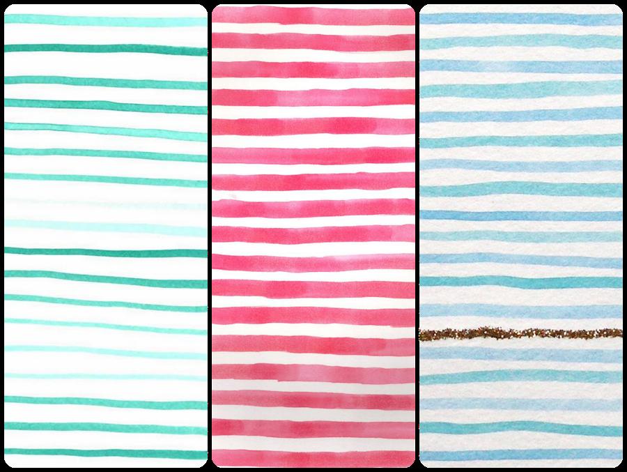 fondos chulos moloes de pantalla móvil celular iphone android lineas horizontales de colores lines pattern