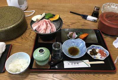 旅館久田の夕定食
