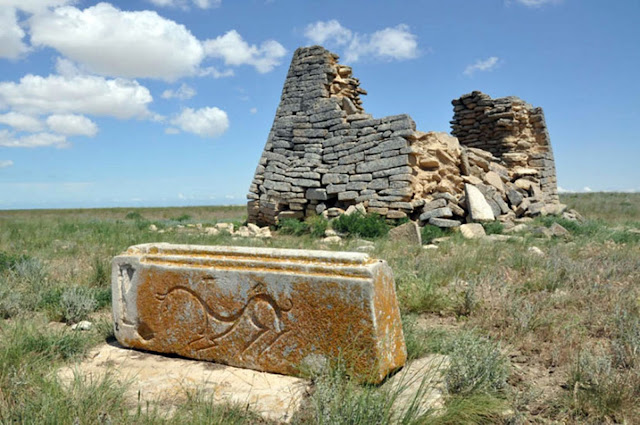 Mysterious 1,500 year old stone monument found in Kazakhstan