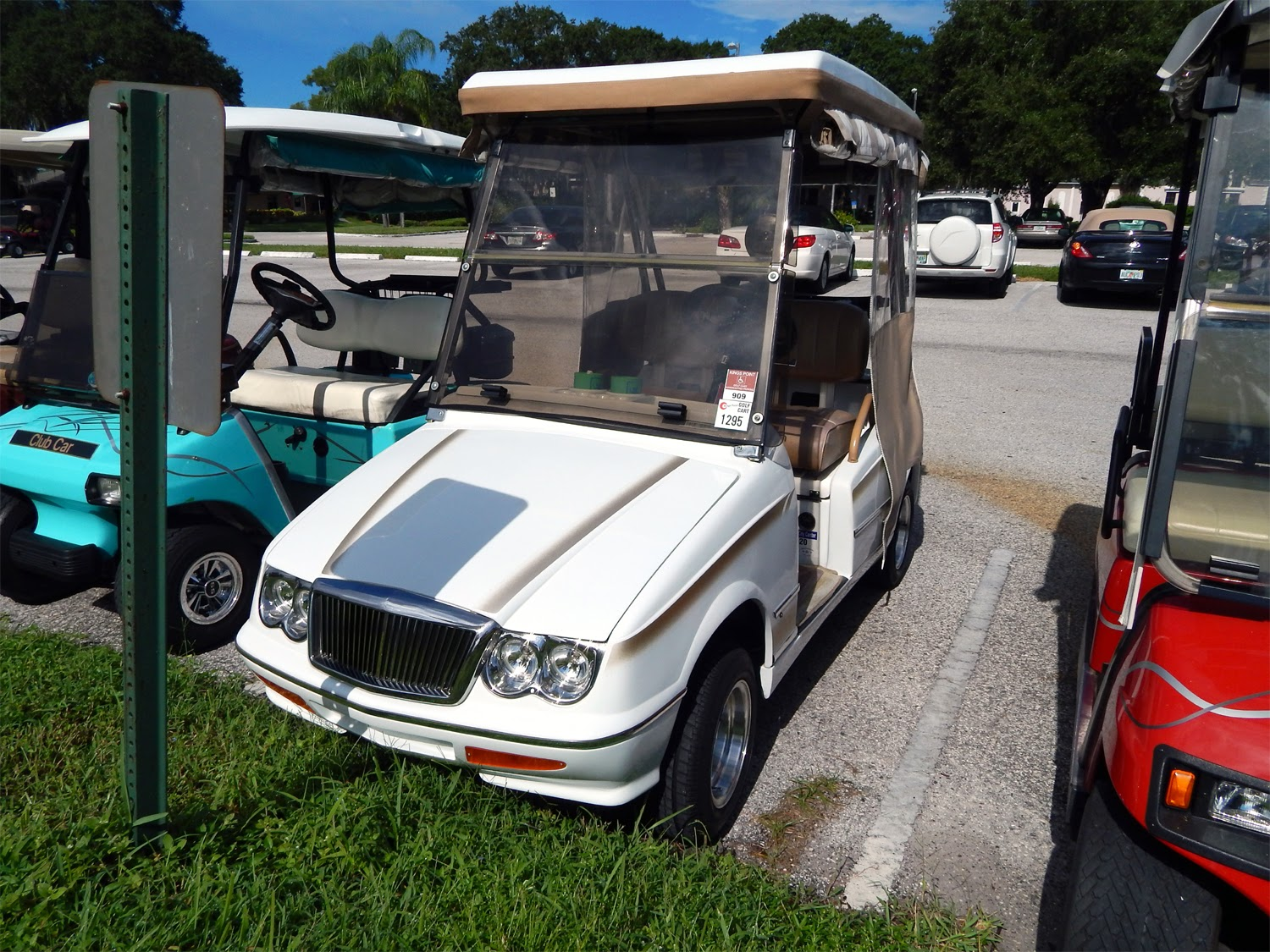 golf cart headlights 2001 nissan maxima engine diagram elegante and country western in sun city