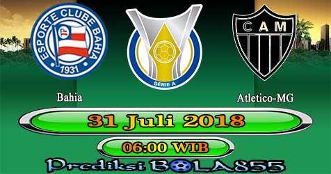Prediksi Bola855 Bahia vs Atletico-MG 31 Juli 2018