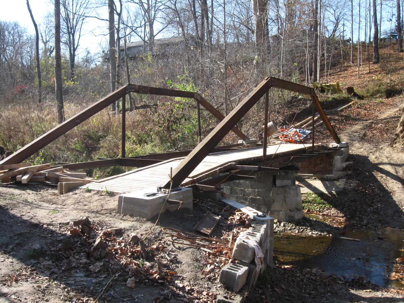 Make Your Own Bricks Bridge Construction Update