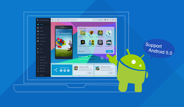 mobogenie android phone manager pc