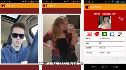 Comparte y encuentra muchos username con KikBuddy