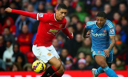 Arsenal prepare bid for Manchester United defender Chris Smalling