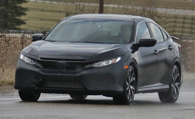 2017 Honda Civic Si Sedan with Four Doors and Medium Spice ...