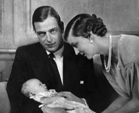 Le duc, la duchesse de Kent et la princesse Alexandra de Kent