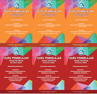 Download Modul Pelatihan Guru Pembelajar SD Kelas Awal dan Tinggi Versi Pdf