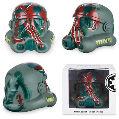 "Star Wars Day 2016 Exclusive Boba Fett Edition Star Wars Legion Stormtrooper Helmet 6"" Vinyl Figure"