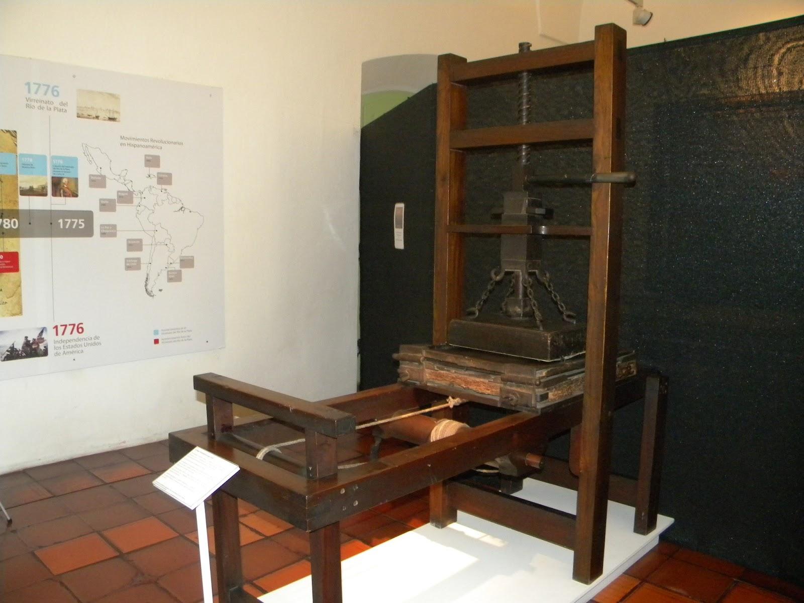Resultado de imagen para imprenta jesuítica de loreto