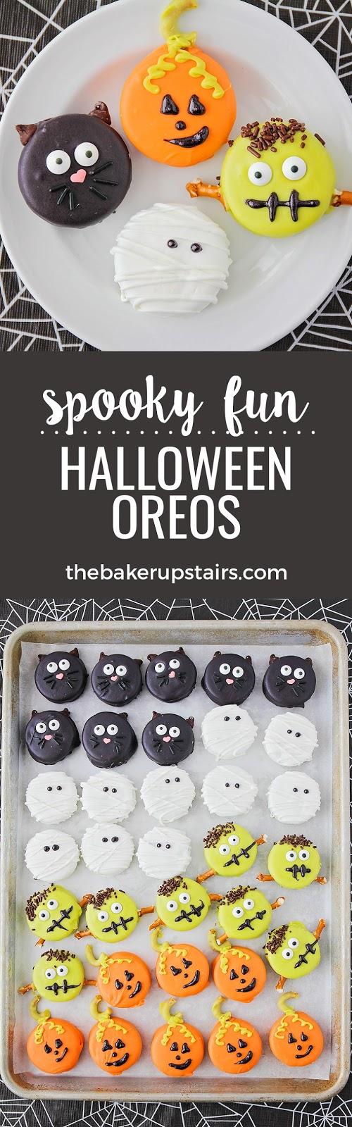 The Baker Upstairs: Halloween Oreos