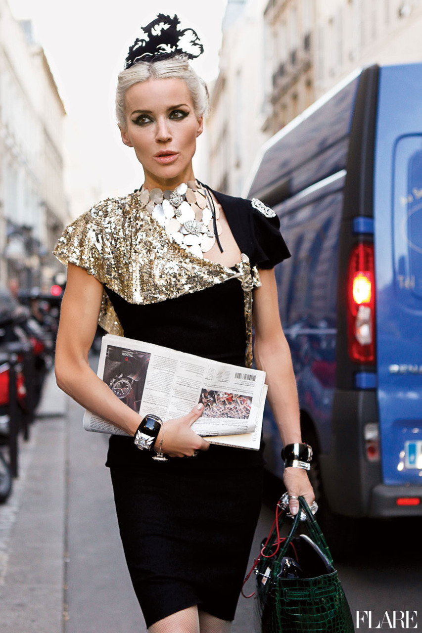 Style Icon Yasmin Sewell: Oddness/Weirdness: Daphne Guinness: Fashion Icon