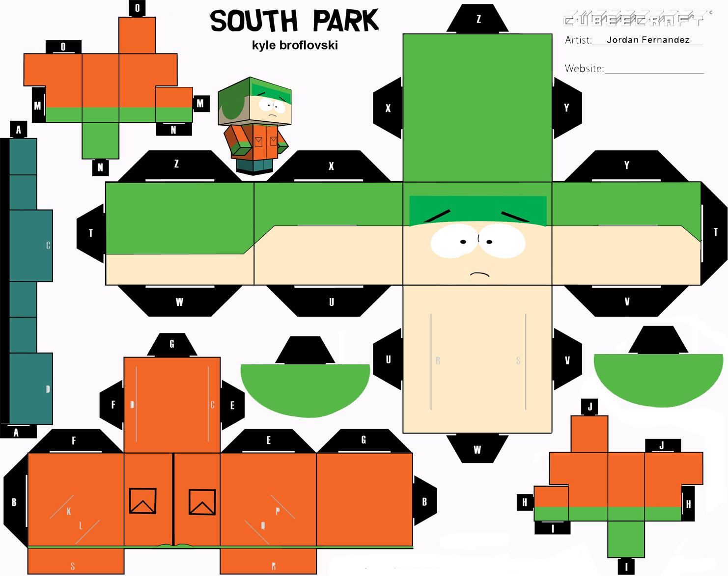 kyle south park ha...