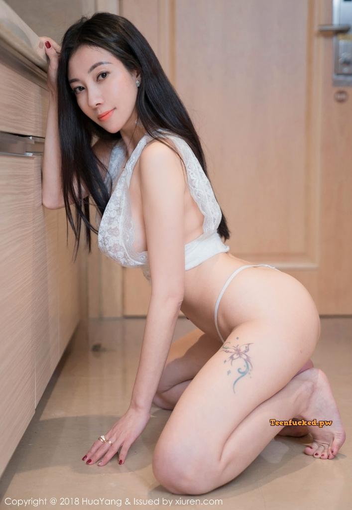 HuaYang 2018 10 23 Vol.090 Victoria Guo Er MrCong.com 039 wm - HuaYang Vol.090: Người mẫu Victoria (果儿) (43 ảnh)