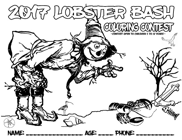Lobster Bash: 2017 Coloring Contest.