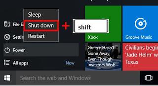 Cara masuk recovery mode di Windows 10