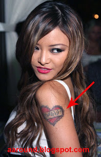 Tila Tequila with Tattoo