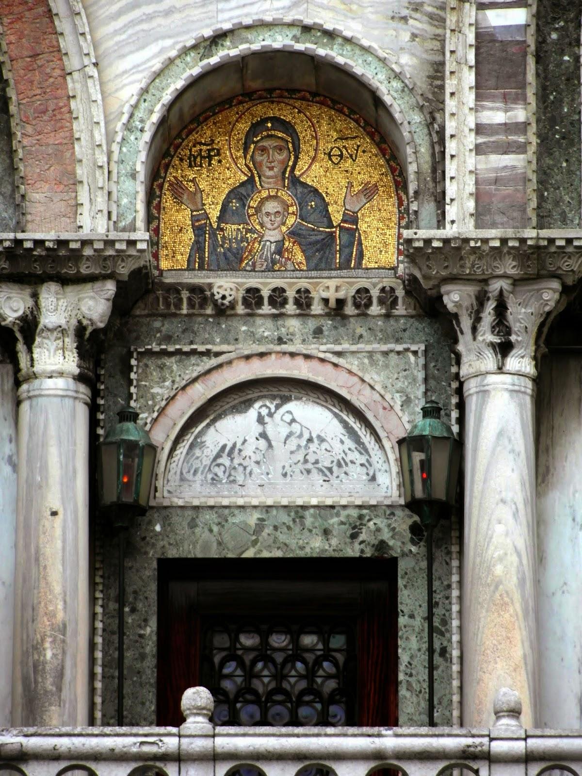 Two lamps, Basilica San Marco, Venice