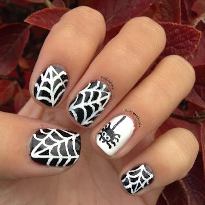 Polish Pals: Spiderweb Nail Art Tutorial