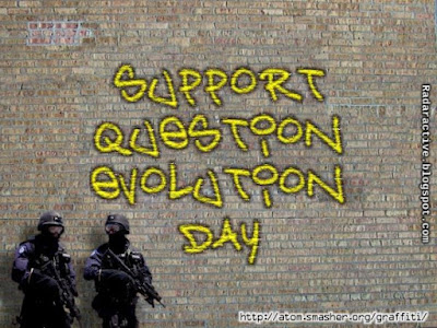 Some people think for themselves this Question Evolution Day, but secularists are outraged when Darwin is doubted