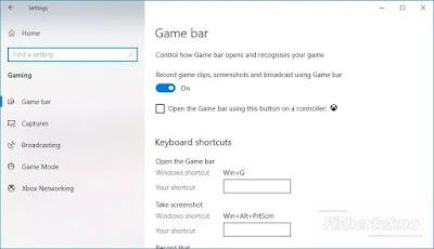 Pastikan Game Bar Aktif