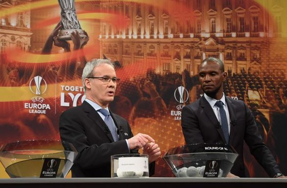 EUROPA LEAGUE DRAW: Arsenal face AC Milan in Europa League last 16 (See full fixtures and date)