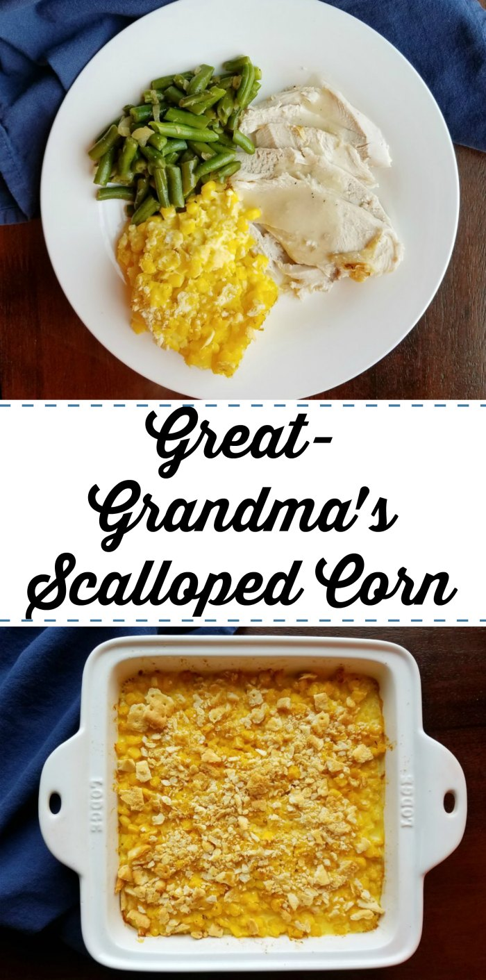 Cooking with carlee great grandmas scalloped corn created using the recipes generator forumfinder Images