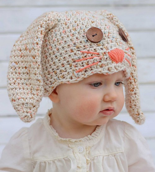 Little Bunny Foo Foo... Bunny Hat - Free Pattern