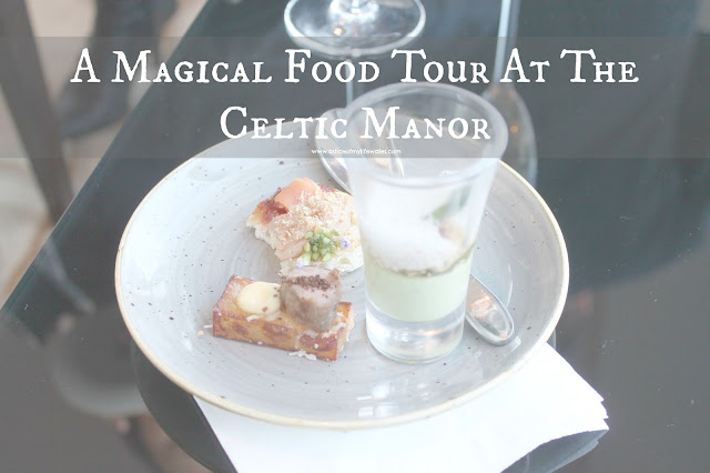 A magical food tour at the celtic manor blog post about evening at the manor