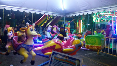permainan pasar malam di carnival bintaro