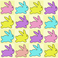free printable bunny pattern