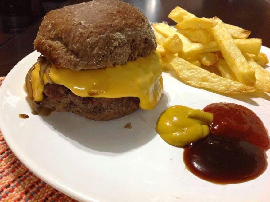 Receita de Hambúrguer