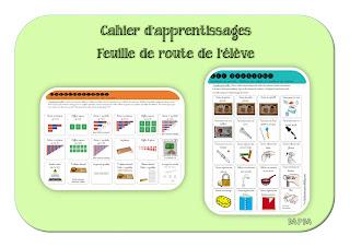 Feuille de route pour suivi des activités Montessori en maternelle