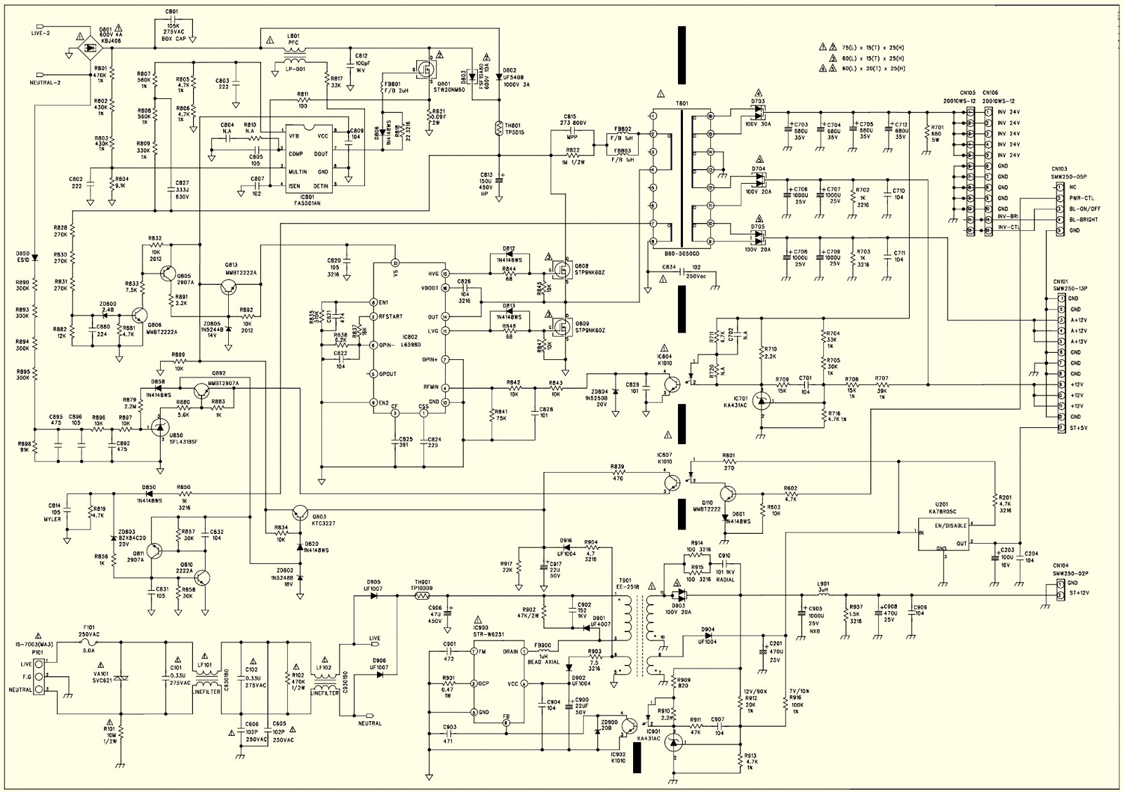 Simple 12V 1A SMPS - Smps Connection Diagram